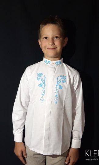 Detská Chlapčenská bavlnená košeľa