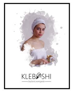 Poster ad with Sofia Kleban No.1