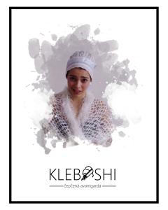 Poster ad with Sofia Kleban No.3