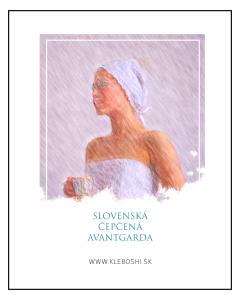 Slovenská čepčená avantgarda - The bonnet avantgarde - Sofia Kleban No.2