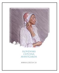 Slovenská čepčená avantgarda - The bonnet avantgarde - Sofia Kleban No.1