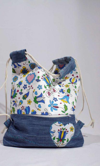 Taška ruksak Jeannie Up Golfská modrá