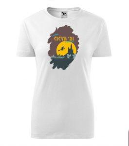 Dámske tričko s retro grafikou Čičva