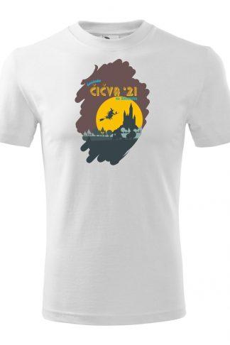 Pánske tričko s retro grafikou Čičva